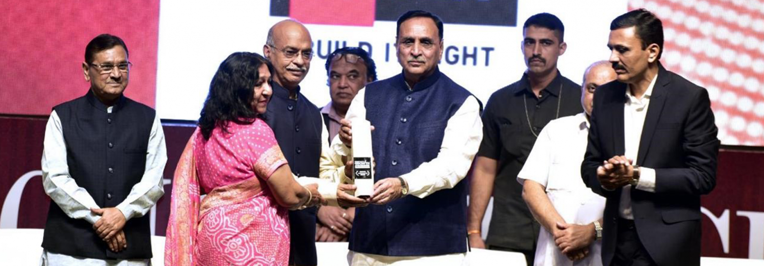 CREDAI GUJARAT GROWTH AMBASSADOR AWARD